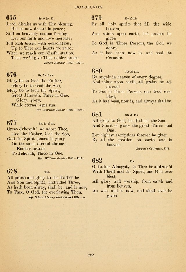 Hymns of the Ages for Public and Social Worship page 291