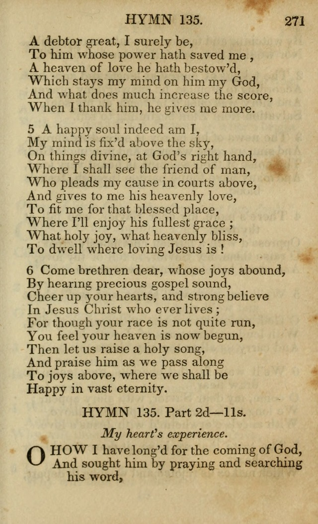 Hymns and Spiritual Songs, Original and Selected, for the Use of Christians. (5th ed.) page 281