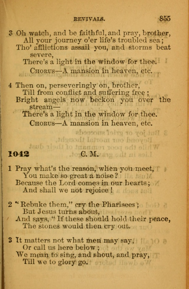 The Hymn Book of the African Methodist Episcopal Church: being a collection of hymns, sacred songs and chants (5th ed.) page 864