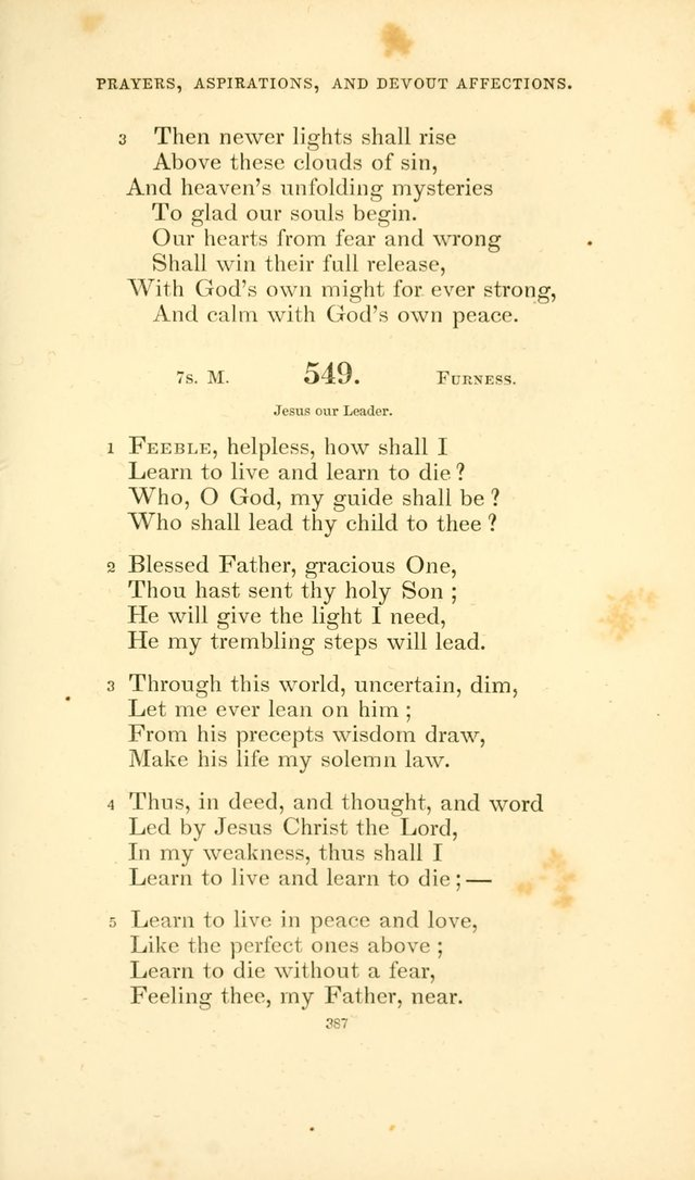 Hymn Book for Christian Worship page 430
