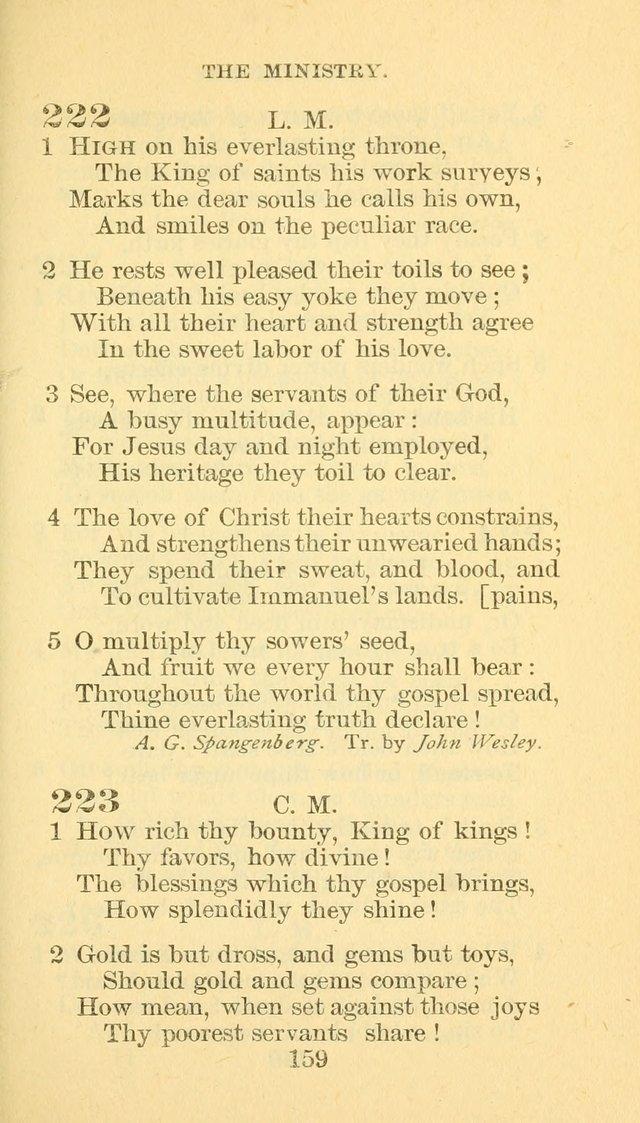 hymn book of the methodist episcopal church south 223 how rich thy
