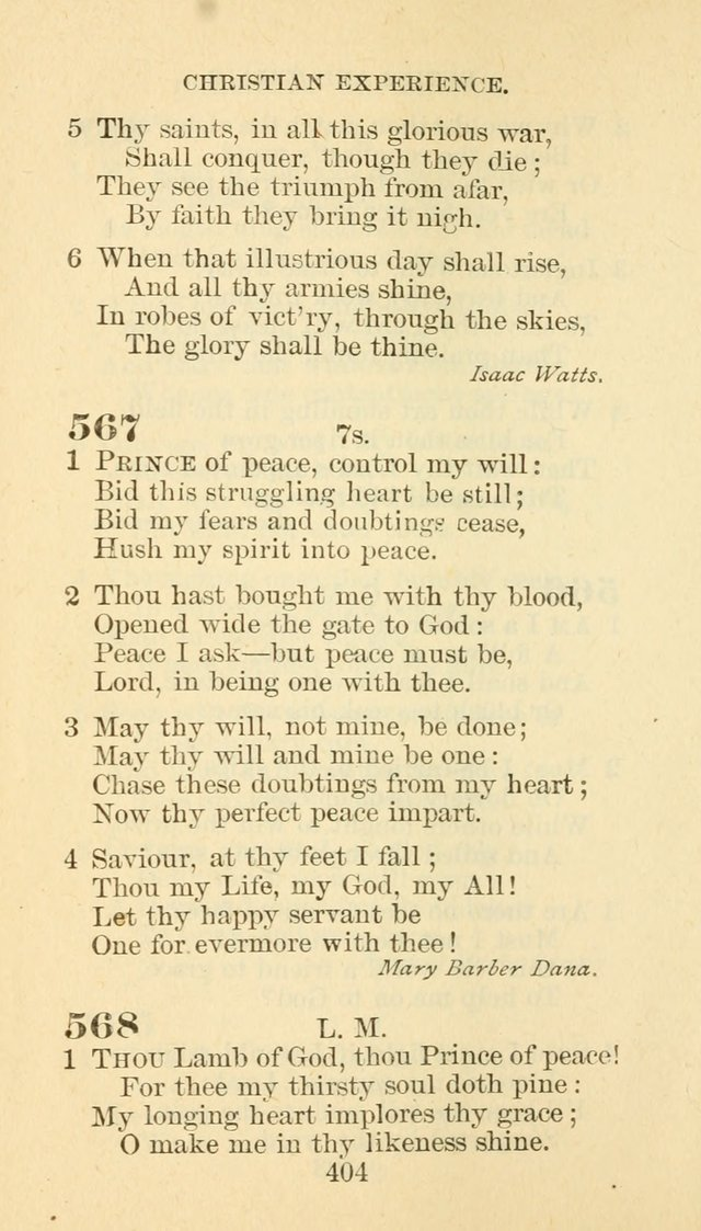 Hymn Book of the Methodist Episcopal Church, South page 411