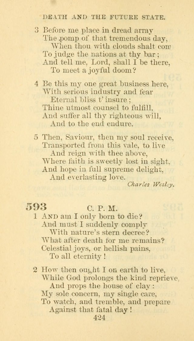 Hymn Book of the Methodist Episcopal Church, South page 431