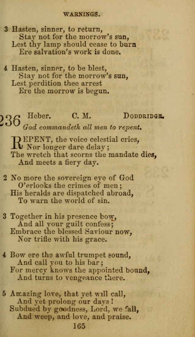 Hymn Book of the Methodist Protestant Church. (11th ed.) page 167