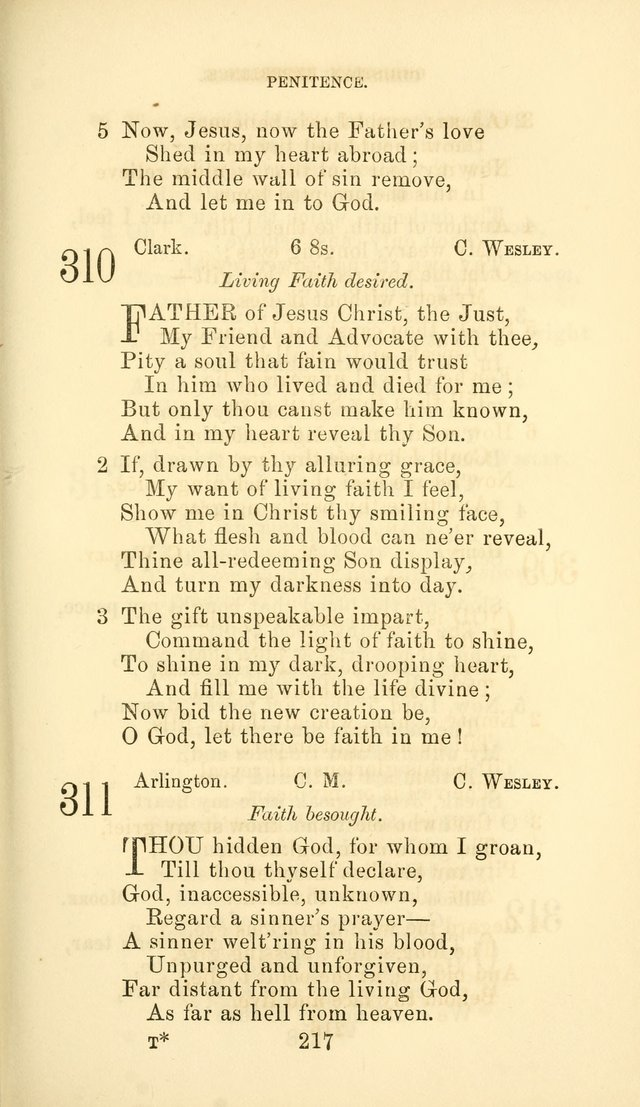 Hymn Book of the Methodist Protestant Church page 224