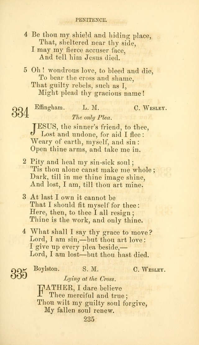 Hymn Book of the Methodist Protestant Church page 242