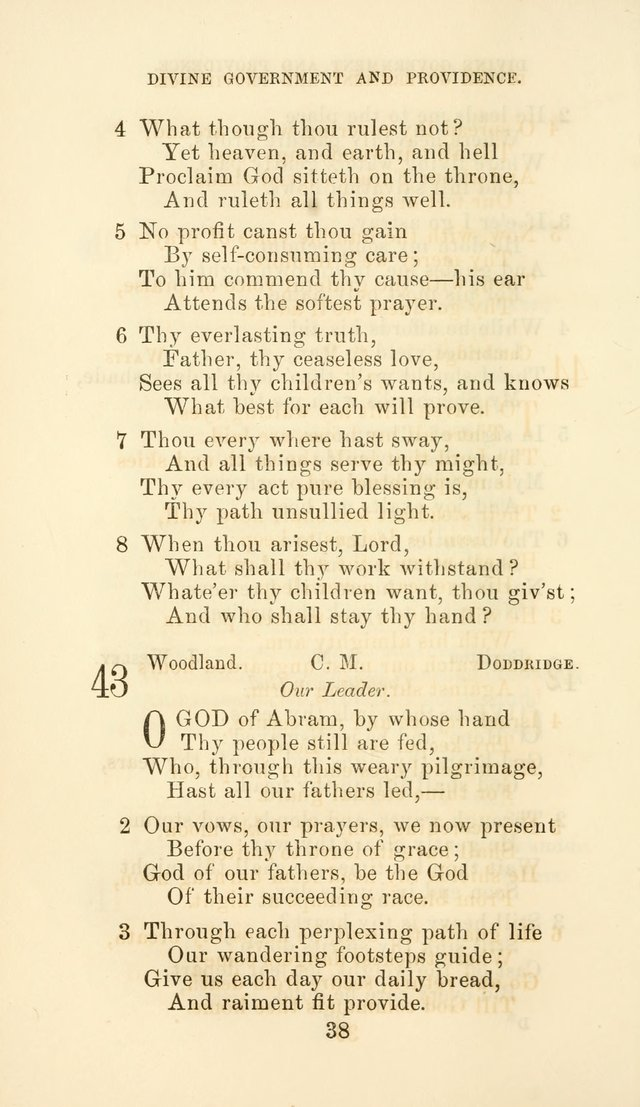 Hymn Book of the Methodist Protestant Church page 45