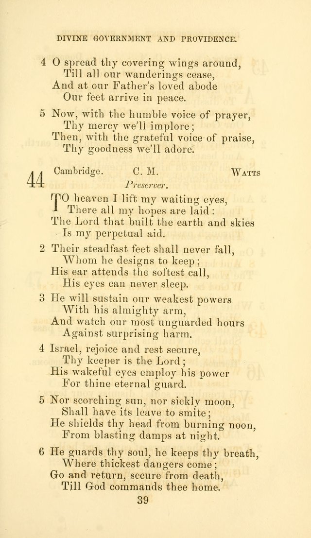 Hymn Book of the Methodist Protestant Church page 46