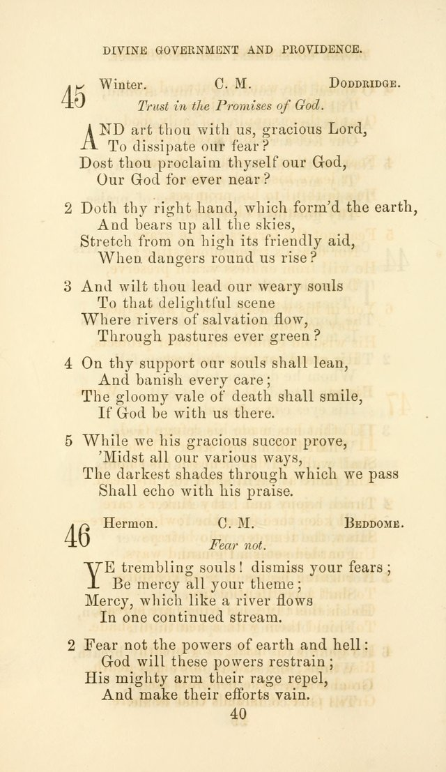 Hymn Book of the Methodist Protestant Church page 47