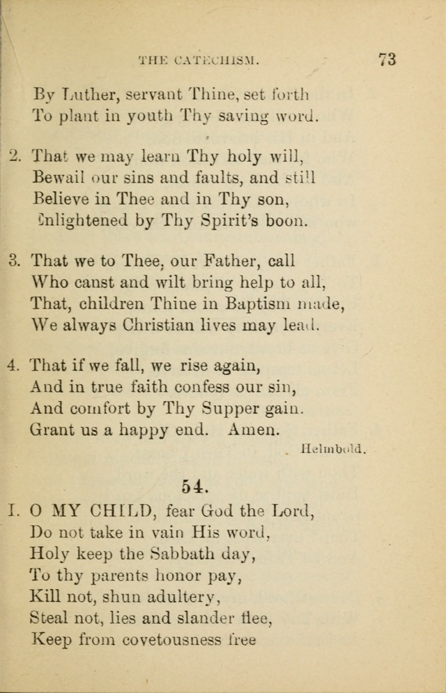 Hymn Book: for the use of Evangelical Lutheran schools and congregations page 77