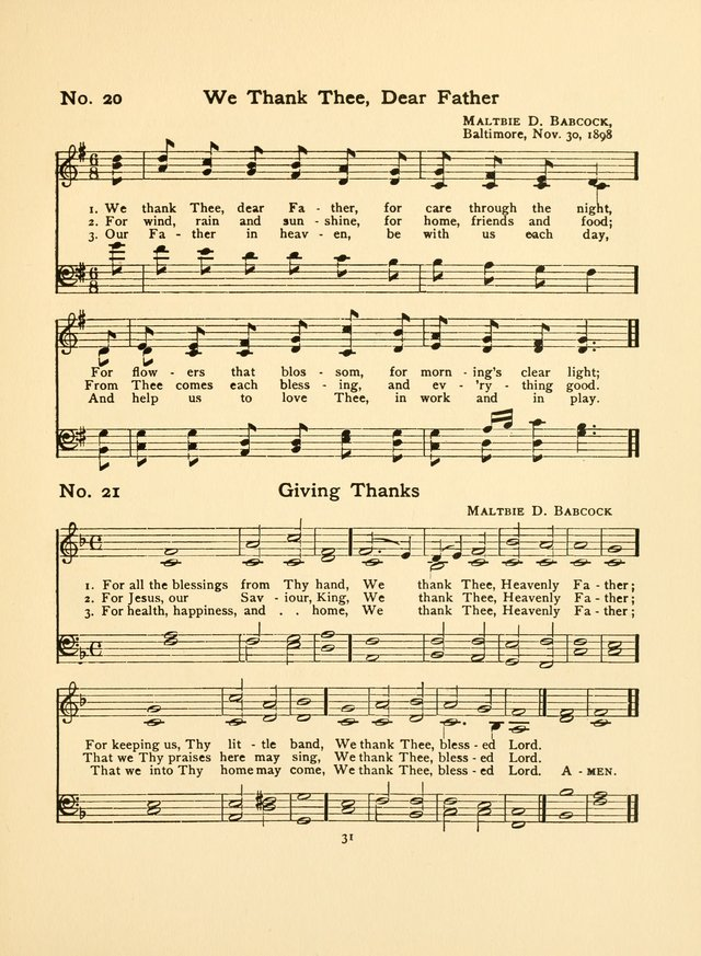 Hymns and Carols page 31