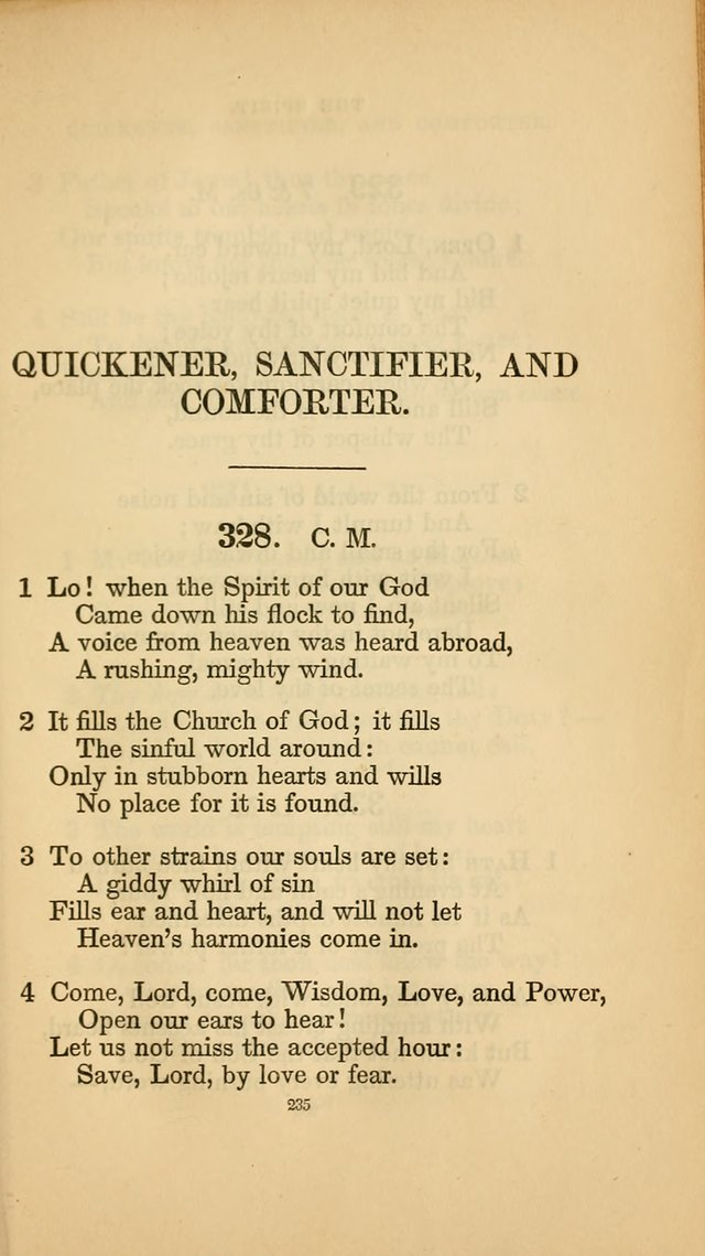 Hymns for the Church of Christ. (6th thousand) page 235