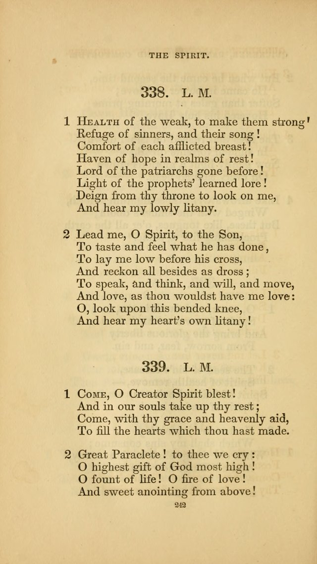 Hymns for the Church of Christ. (6th thousand) page 242