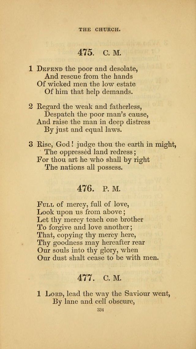 Hymns for the Church of Christ. (6th thousand) page 334
