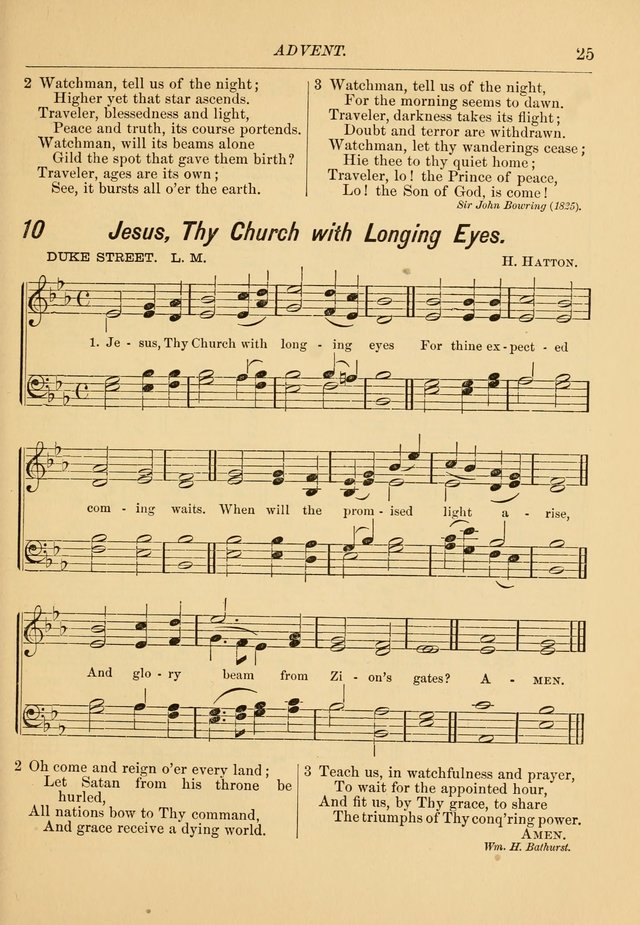 Hymns and Carols for Church and Sunday-school page 32