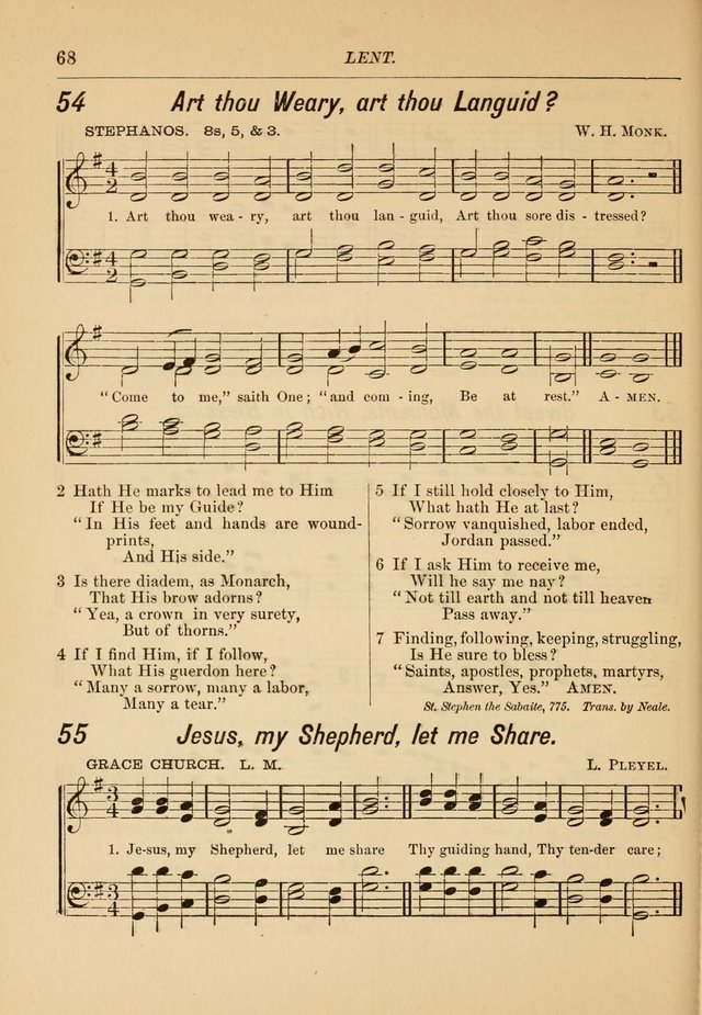 Hymns and Carols for Church and Sunday-school page 75