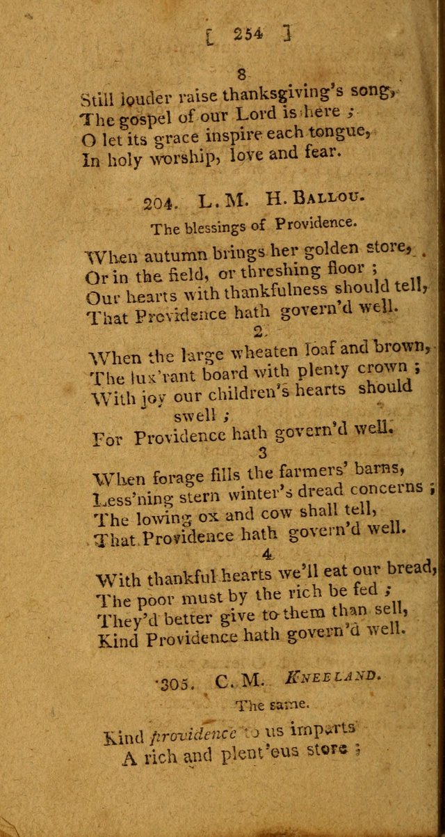 Hymns: composed by different authors, by order of the General Convention of Universalists of the New-England States and Others. Adapted to public and private devotion page 254