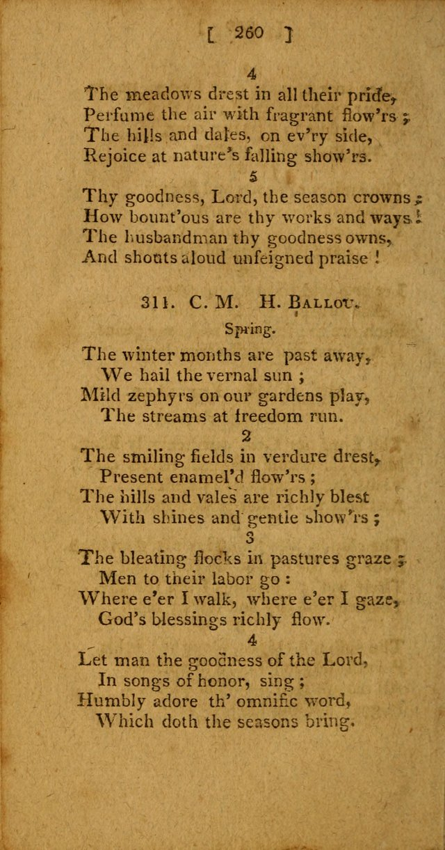 Hymns: composed by different authors, by order of the General Convention of Universalists of the New-England States and Others. Adapted to public and private devotion page 260