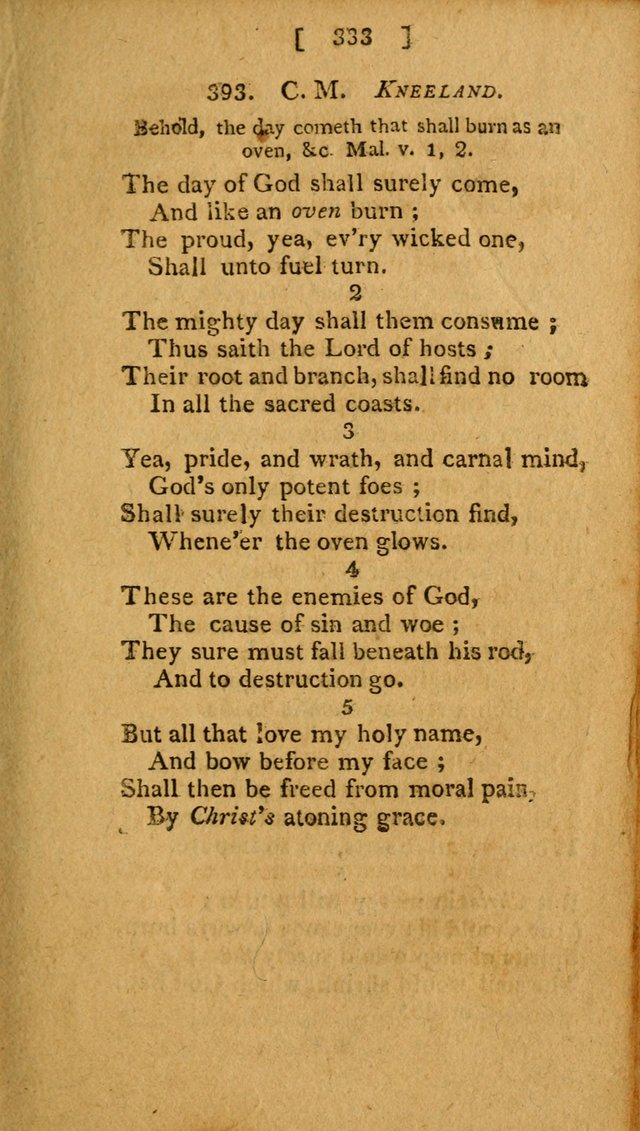 Hymns: composed by different authors, by order of the General Convention of Universalists of the New-England States and Others. Adapted to public and private devotion page 333