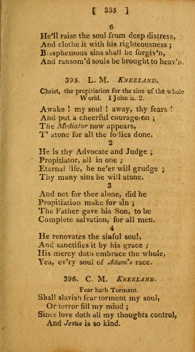 Hymns, Composed by Different Authors, at the Request of the General        Convention of Universalists. 2nd ed. page 335
