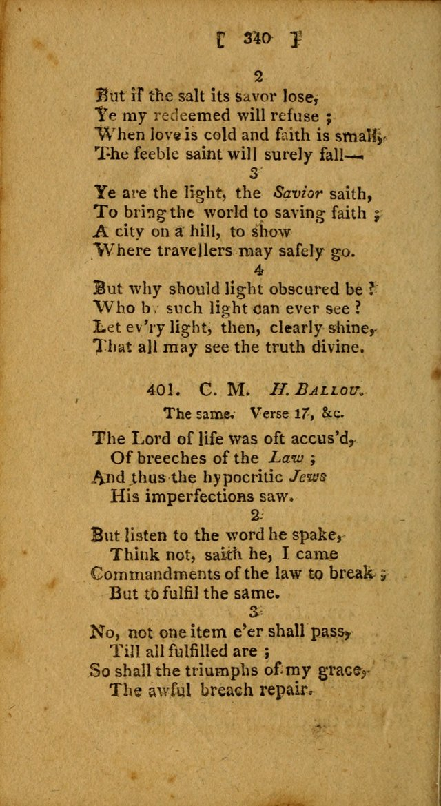 Hymns, Composed by Different Authors, at the Request of the General        Convention of Universalists. 2nd ed. page 340