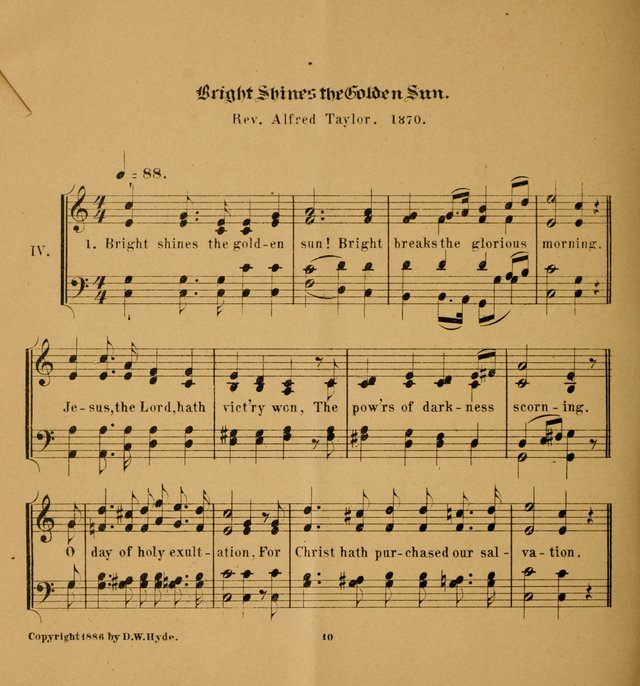 Hymns and Carols for Easter Day. (2nd ed.) page 10