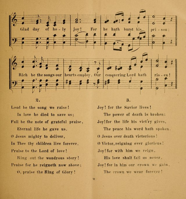 Hymns and Carols for Easter Day. (2nd ed.) page 11