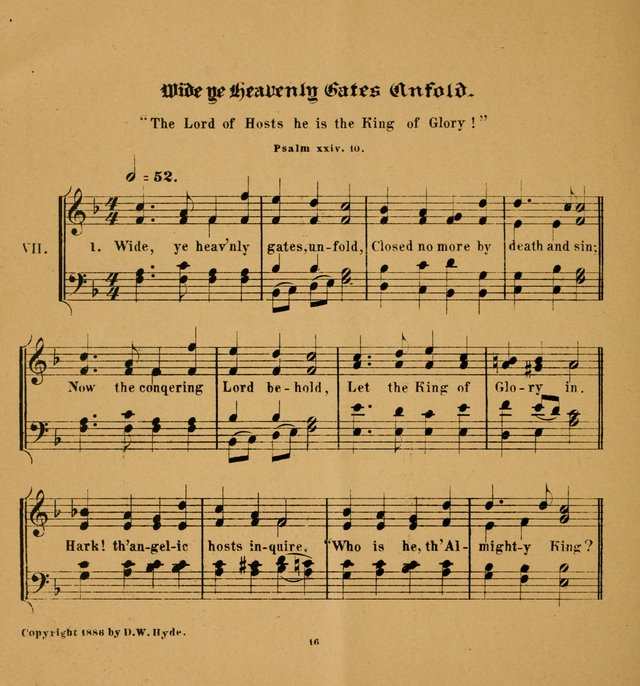 Hymns and Carols for Easter Day. (2nd ed.) page 16
