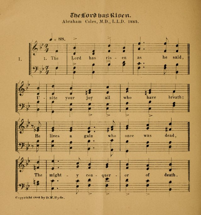 Hymns and Carols for Easter Day. (2nd ed.) page 4