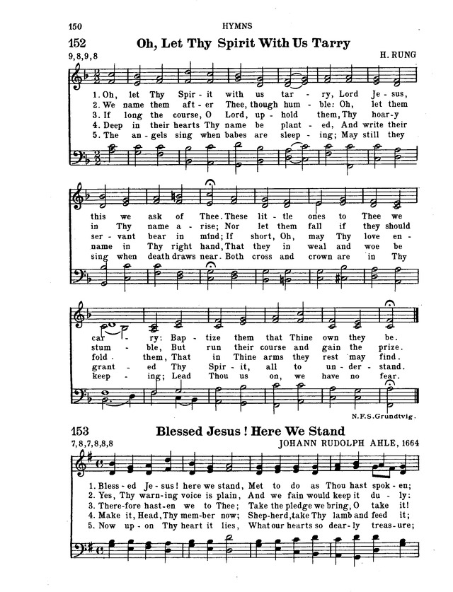 Hymnal for Church and Home page 171