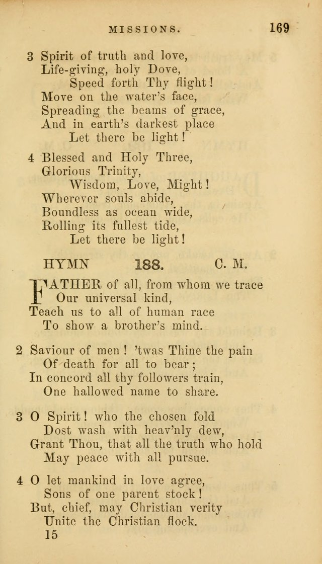 Hymns for Church and Home page 173