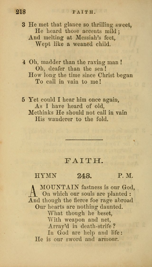 Hymns for Church and Home page 222