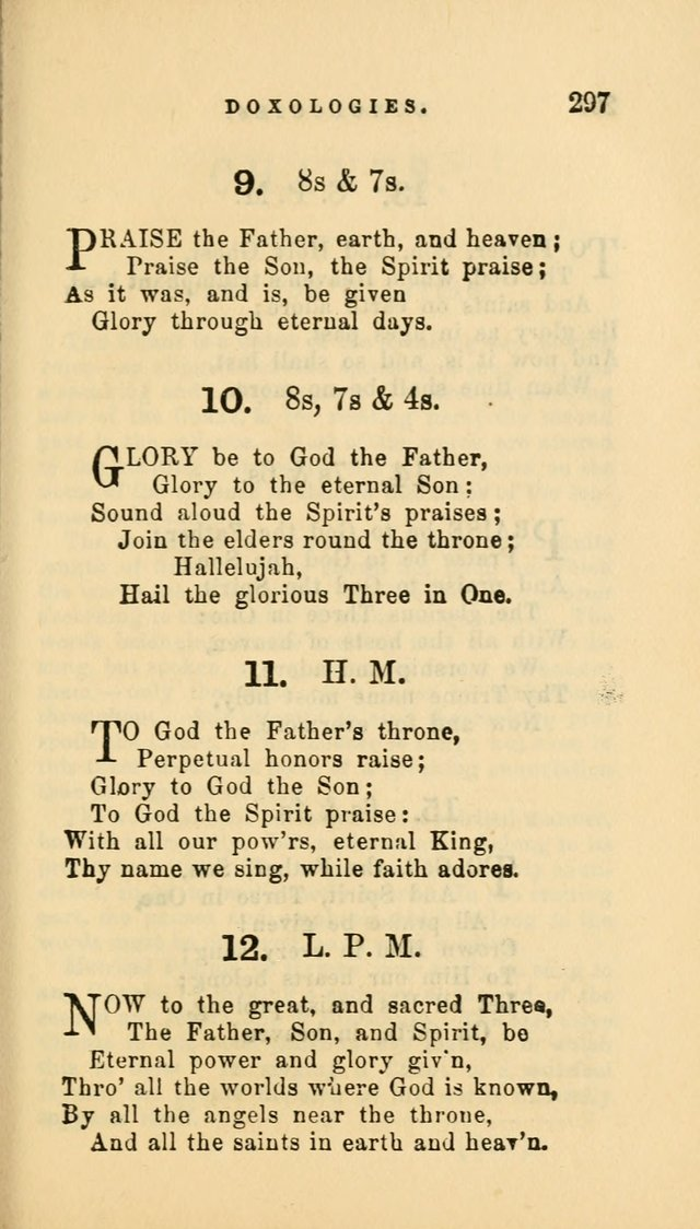 Hymns and Chants: with offices of devotion. For use in Sunday-schools, parochial and week day schools, seminaries and colleges. Arranged according to the Church year page 297