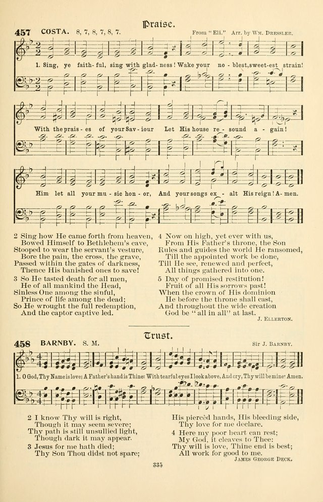 Hymnal Companion to the Prayer Book: with accompanying tunes page 341