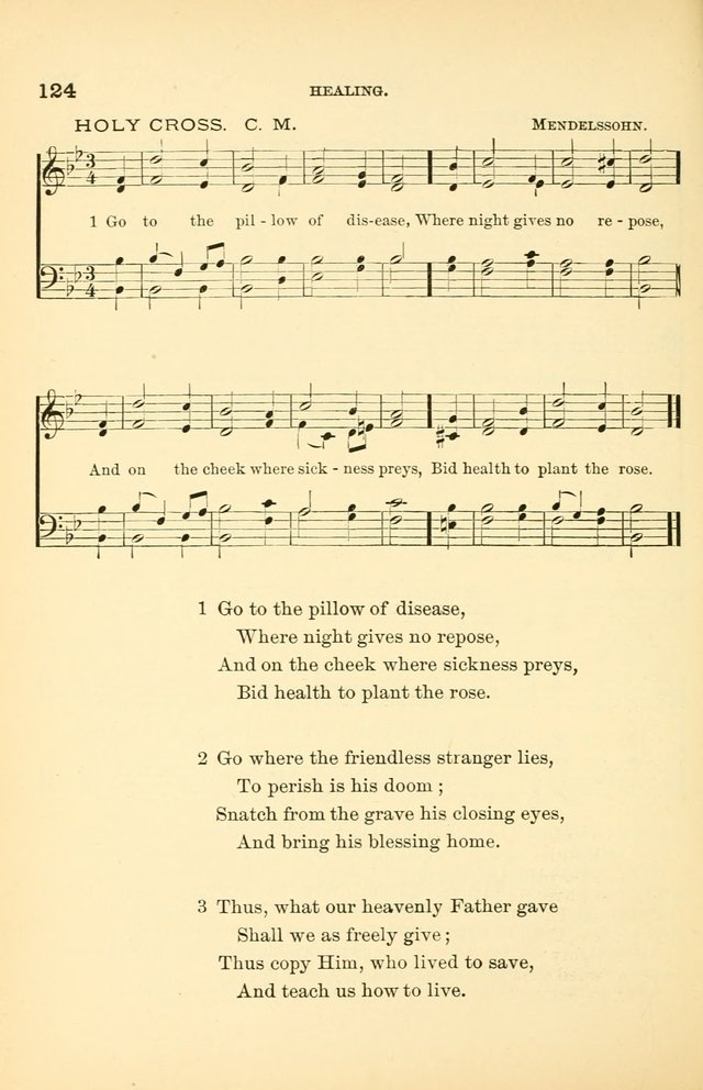 Hymnal for Christian Science Church and Sunday School Services page 124