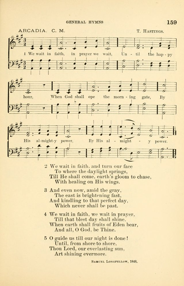 Hymnal for Christian Science Church and Sunday School Services page 159