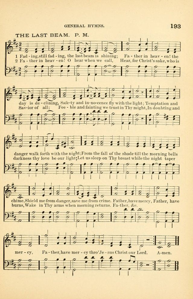 Hymnal for Christian Science Church and Sunday School Services page 193