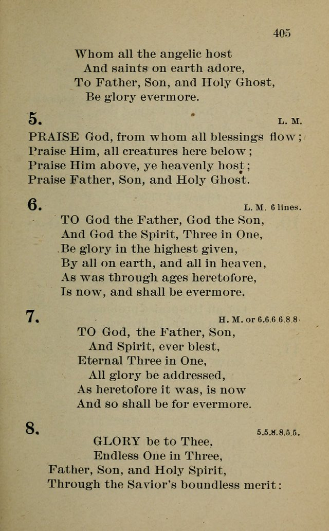 Hymnal: for churches and Sunday-schools of the Augustana Synod page 405