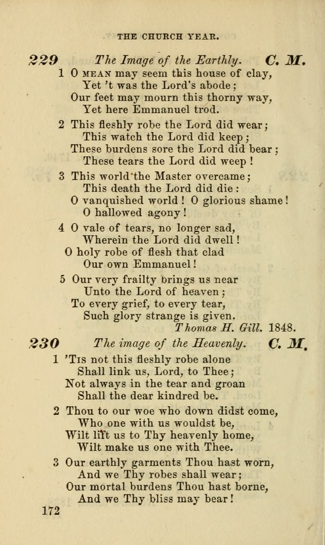 Hymns for the use of the Evangelical Lutheran Church, by the Authority of the Ministerium of Pennsylvania page 172