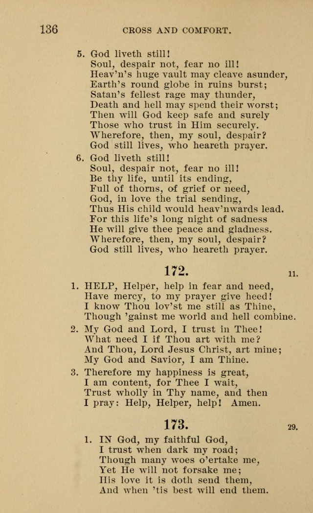 Hymnal for Evangelical Lutheran Missions page 136
