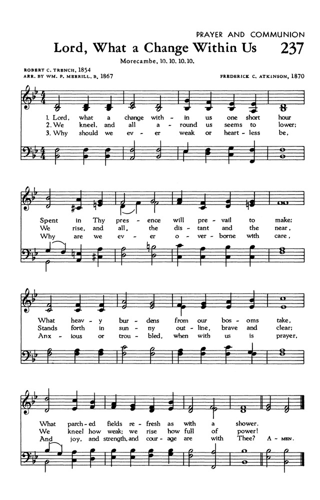 The Hymnal of The Evangelical United Brethren Church page 229