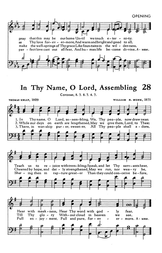 In Thy Name, O Lord, Assembling | Hymnary org