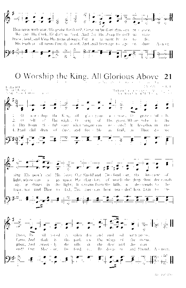 Hymns for the Living Church page 23