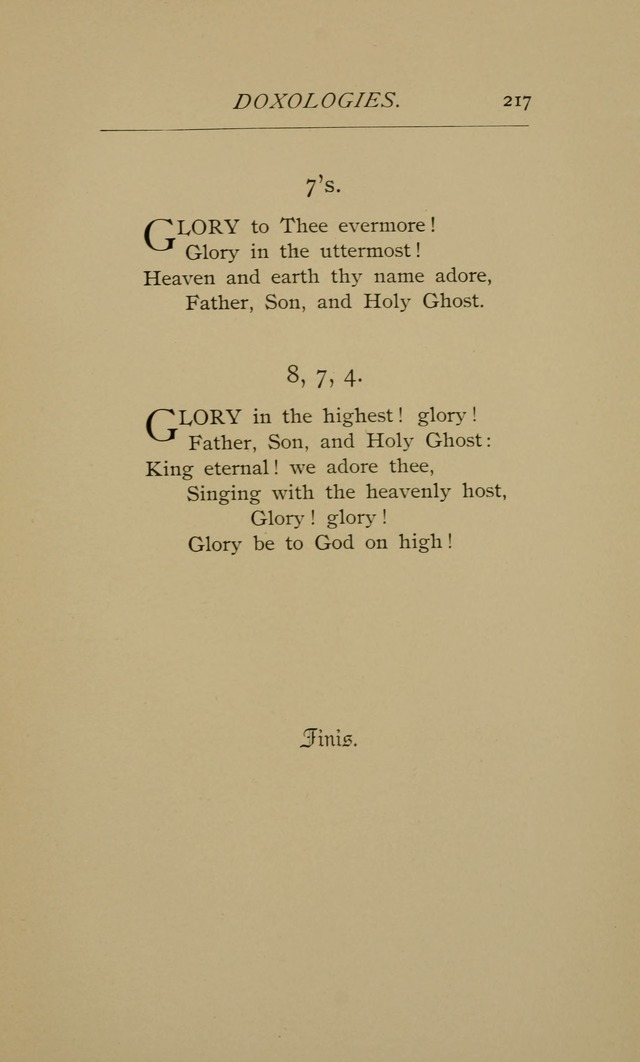 Hymns and a Few Metrical Psalms (2nd ed.) page 219