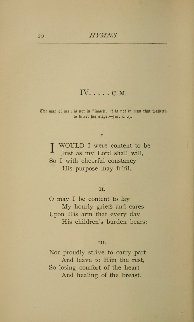 Hymns and a Few Metrical Psalms (2nd ed.) page 22