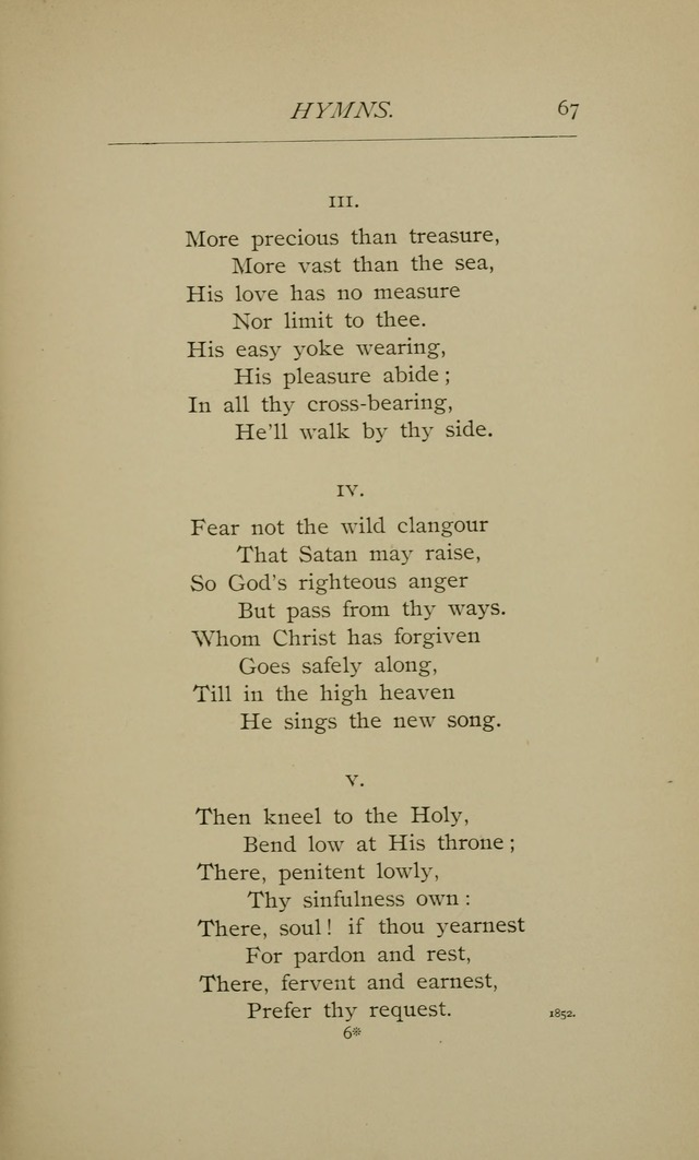 Hymns and a Few Metrical Psalms (2nd ed.) page 69