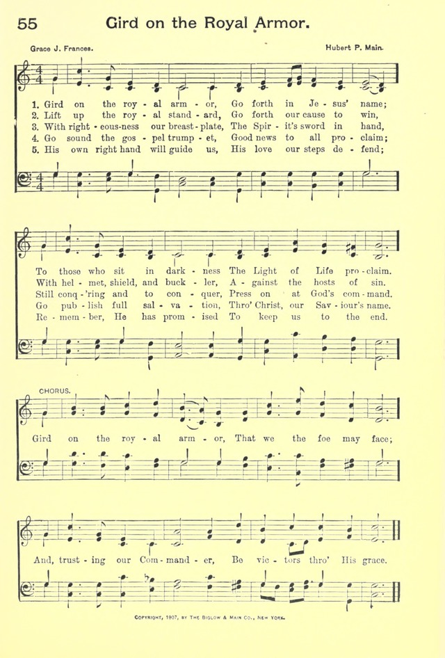 Hallowed Hymns, New and Old: for use in prayer and praise meetings, evangelistic services, sunday schools, young people