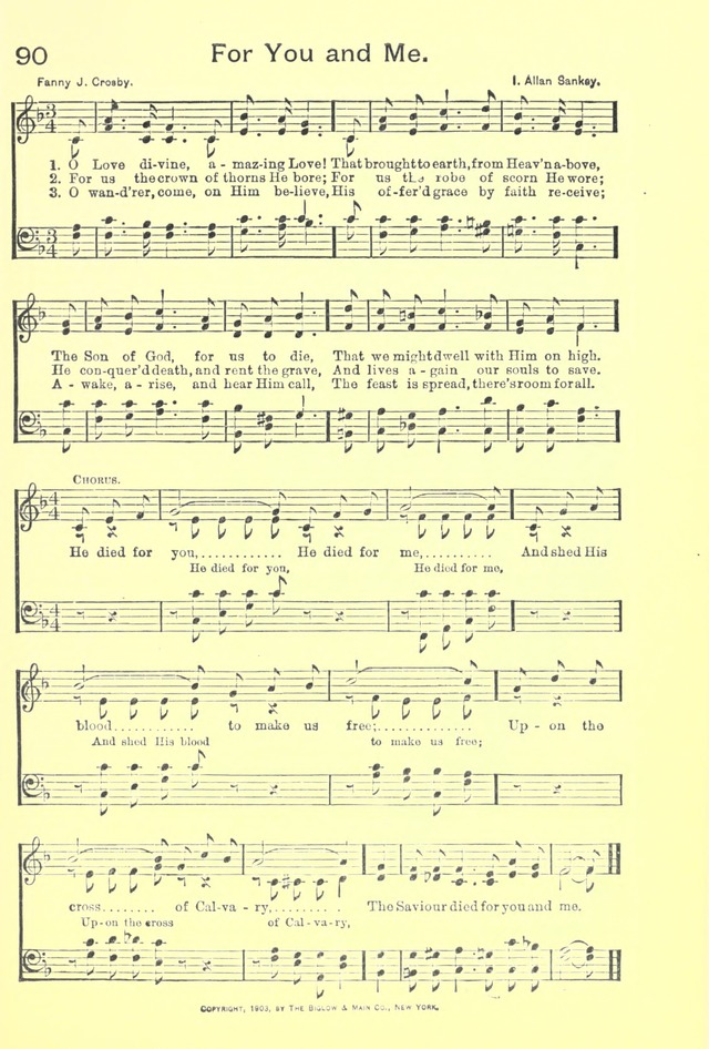 The Endeavor Hymnal For Young Peoples Societies Sunday Schools and Church Prayer Meetings Classic Reprint