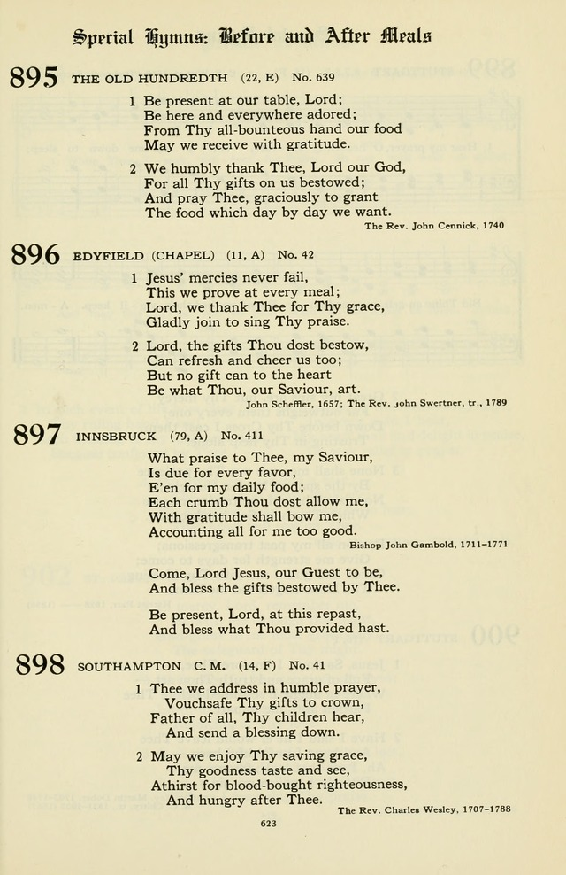 Hymnal and Liturgies of the Moravian Church page 797