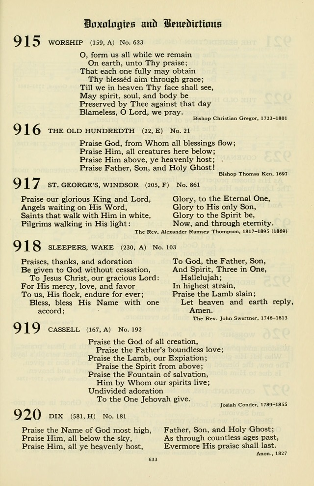 Hymnal and Liturgies of the Moravian Church page 807